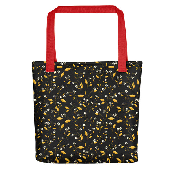 Moonlit Bloomage Tote bag