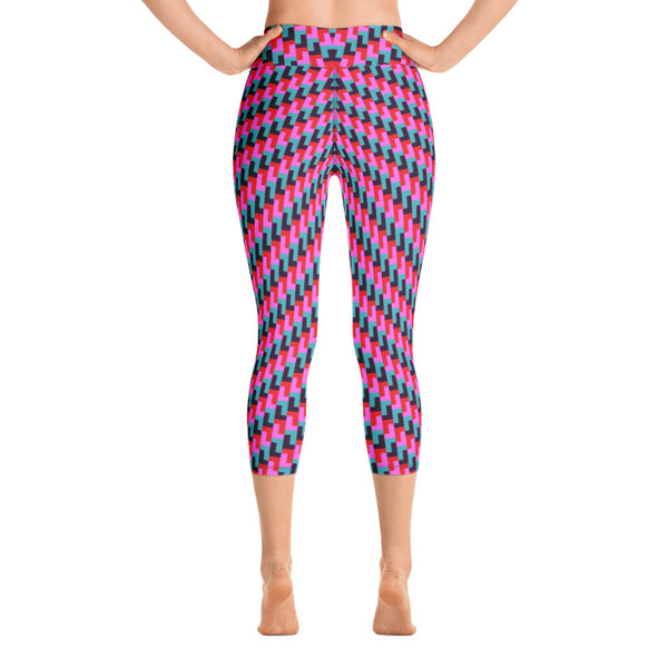 L Yoga Capri Leggings (Alt Colours)