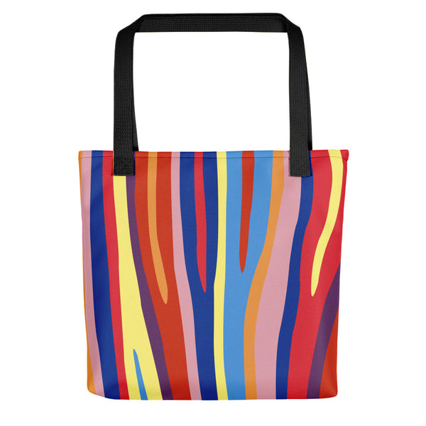 Zebra Paint By Numbers Tote bag (Alt Colours)