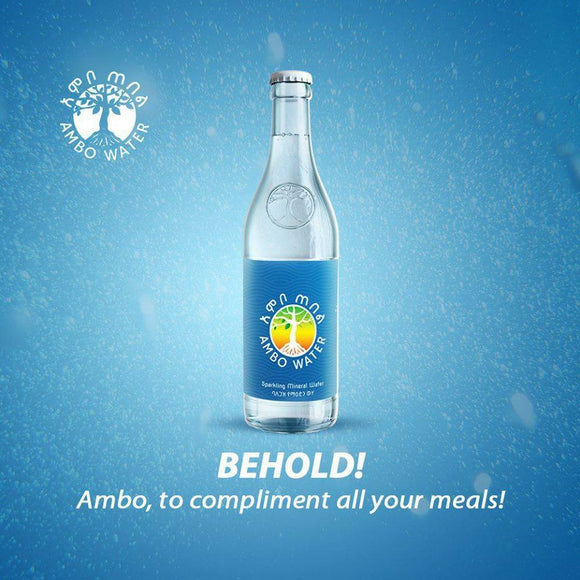 Ambo Mineral Water Bottles (20 count)  አምቦ ውሃ (20 ጠርሙስ ) - E-Merkato