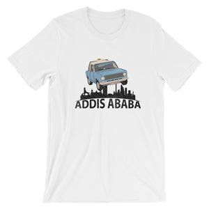 Addis Ababa Short-Sleeve men T-Shirt - E-Merkato