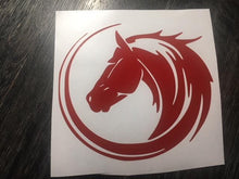 Circular Horse Head Decal (Small)