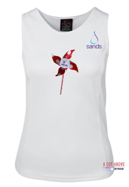 2020 SANDS  Memory Ladies Singlet