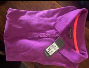 BNWT Target Active purple  ladies polo