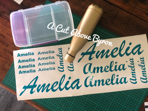 Basic Personalised Name Labels