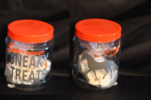 Jar Sneaky Treats with bonus FREE mints