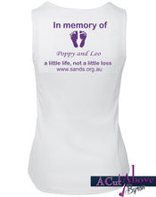 Ladies sands singlet walk to remember