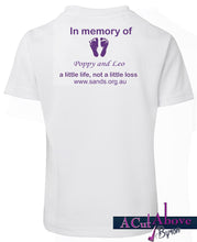 SANDS  Memory  T-Shirt (Kids Sz 4+)