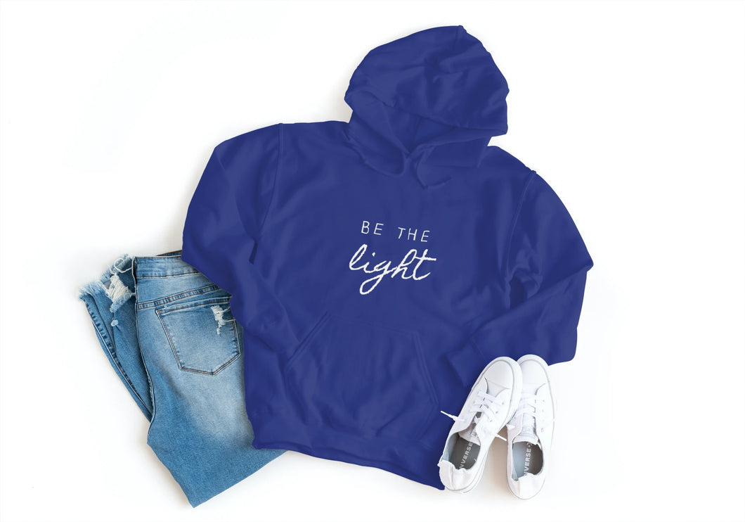 'Be the Light' Ladies Hoodie