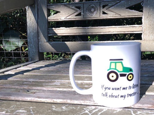 Talk about my Tractor Mug