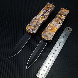 Beautiful Art Automatic Microtech Knife