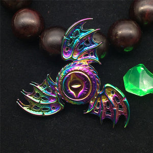 2017 New Dragon's Eye Rainbow Finger Fidget Spinner Metal Toys Hand Spinner Metal Zinc Anti Stress Fidget Spinning Tops Toy - VIKNIFE