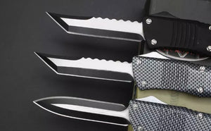 HIGH QUALITY MICROTECH HELLBOUND D12 TANTO - VIKNIFE