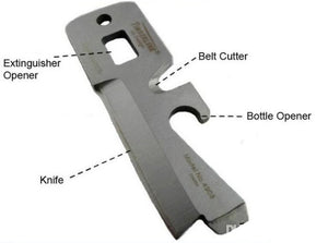 TIMBERLINE EDC Keychain Multi-Purpose Stainless Steel Wrench Pocket Military Card