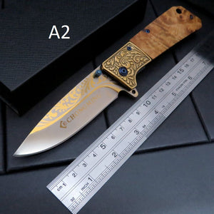 4 Models Browning 440C Folding Pocket EDC Knife - VIKNIFE