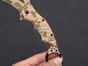 FOX 3 Models Folding Claw Karambit Edc Tactical Outdoor Brand Knife - VIKNIFE