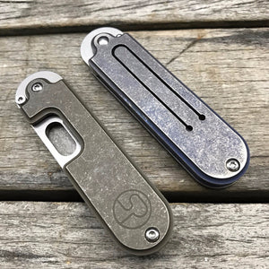 Mini Bean Serge Folding Knife S35VN Blade Titanium Handle Camping Edc Tool Utility Outdoor Pocket Knife - VIKNIFE