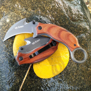 Folding Karambit Edc Tactical Outdoor Brand Knife - VIKNIFE