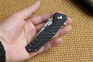 Venom Folding High End Carbon VG10 Tactical Knife EDC - VIKNIFE