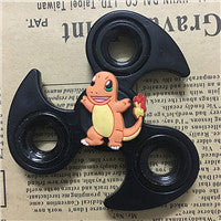 Hot Tri-Spinner Fidget Toy Metal Stress EDC Anti Stress Finger Hand Spinner for Child Adult Multicolor Toys Gift Autism Spiner - VIKNIFE