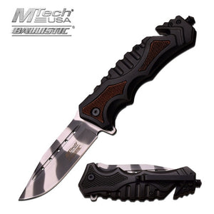 M-Tech Spring Assisted rescue Knife - VIKNIFE