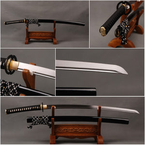 Vintage Home Decoration Manganese  Steel Blade Japanese Katana  Sword Full  Tang  Sharp Fully Handmade Samurai  Sword