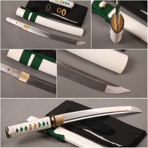 Ostentatious Metal Home Decoration  Fully Handmade Folded Steel  Japanese Tanto Full Tang  Samurai  Sword Sharp  Knife