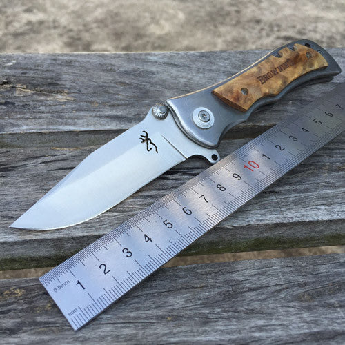 3 Styles Browning Damascus Folding Tactical EDC Pocket Knife - VIKNIFE