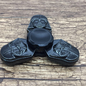 2017 New Fidget Toy Star Wars Dark Warrior Hand Spinner Finger Stress Spinner Tri Spinner - VIKNIFE