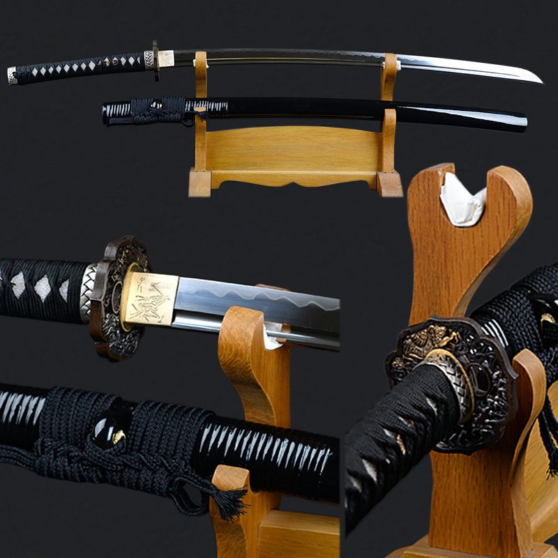 Vintage Decorative Japanese Sword Fully Handmade 1095 Carbon Steel Japanese Katana 32768 Layers  Fully Tang Sharp Samurai Sword