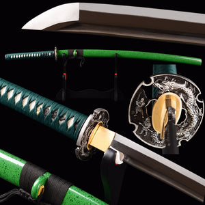 Full Handmade Japanese Samurai Katana Sword 1095 Carbon Steel Sharp Blade Iaido Training Sword Full Tang Cutting Espadas Knife - VIKNIFE