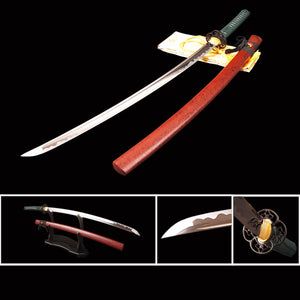 Hand Forged Samurai Katana Japanese Sword Full Tang Cutting Practice Espadas Sharp Bushido Sword Samurai Cosplay Display Knife - VIKNIFE