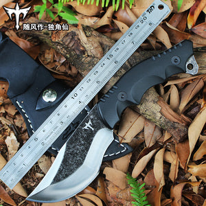Handmade Knife Camping Hunting Survival Tactical Knife Outdoor - VIKNIFE