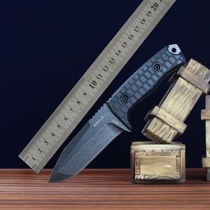 DC53 High Hardness Straight Knife Blade Tactical - VIKNIFE