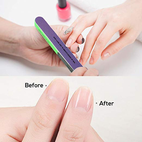 Good tool: the nail buffer is a good nail finishing tool which can be applied repeatedly; You can trim your toe nails after clipping your finger nails.
