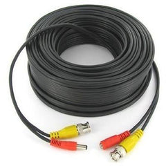50m CCTV CABLE - RCA/BNC WITH POWER