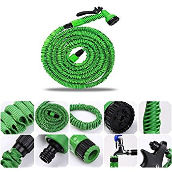 3x Expandable Hose Pipe 50ft