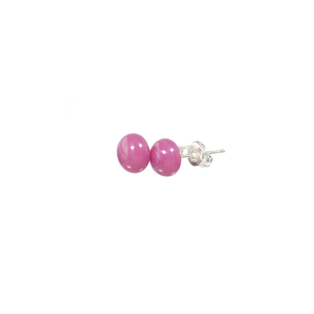 Confetti earrings in candy pink