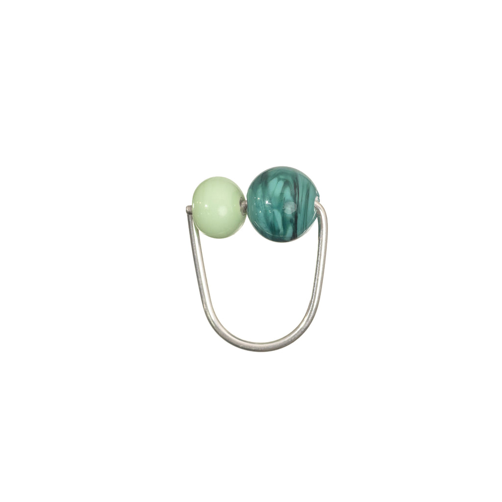 Double Bubble ring in mint