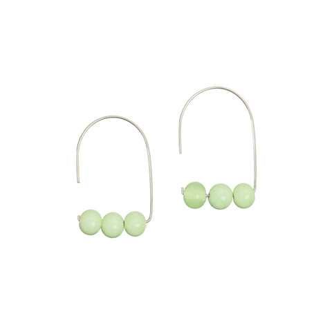 Maya earrings in mint