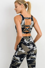 Load image into Gallery viewer, Jungle Camo Workout Leggings