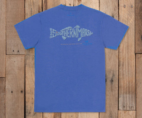 Wildlife Words Tee - Redfish