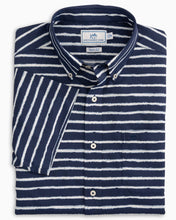 Load image into Gallery viewer, Pier Striped Intercoastal Performance SS Sport Shirt