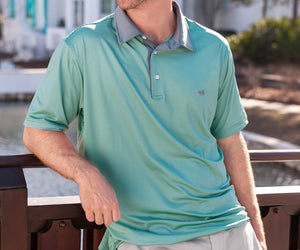 Bermuda Performance Polo - Hawthorne