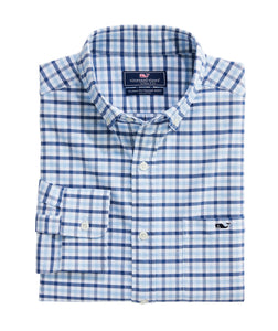 Classic Fit Permit Cotton Performance Tucker Button-Down Shirt