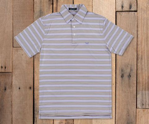 Bermuda Performance Polo - Pensacola Stripe