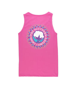 Youth Watercolor Logo Tank Top