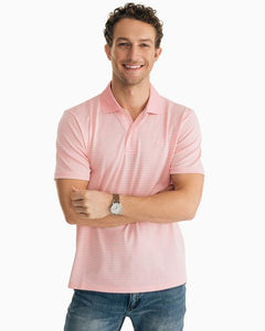 Roster Striped Performance Polo