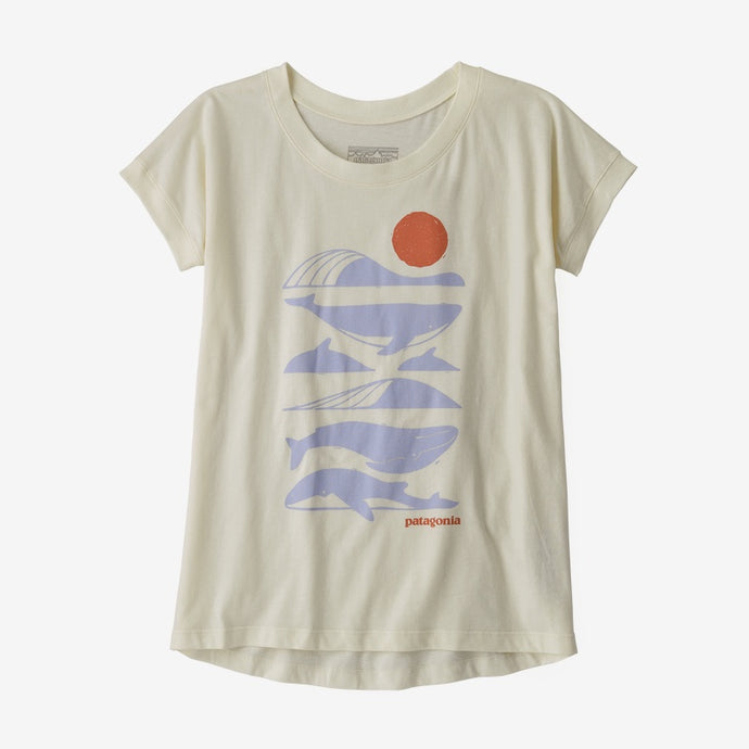 Girls' Graphic Organic Cotton T-Shirt