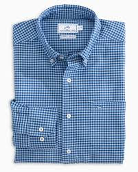 Channel Marker Gingham Sportshirt